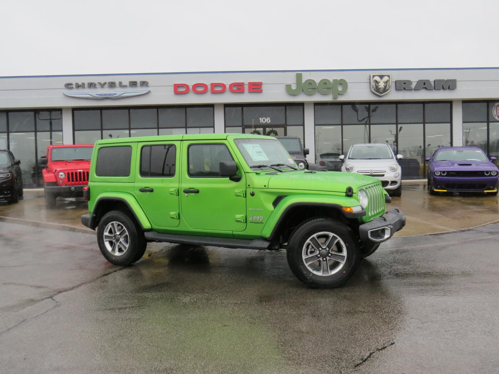 New 2019 JEEP Wrangler Unlimited Unlimited Sahara