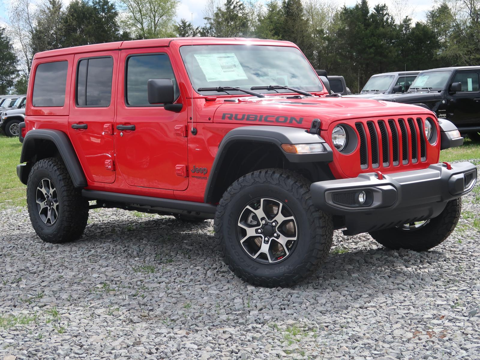 New 2019 JEEP Wrangler Unlimited Unlimited Rubicon