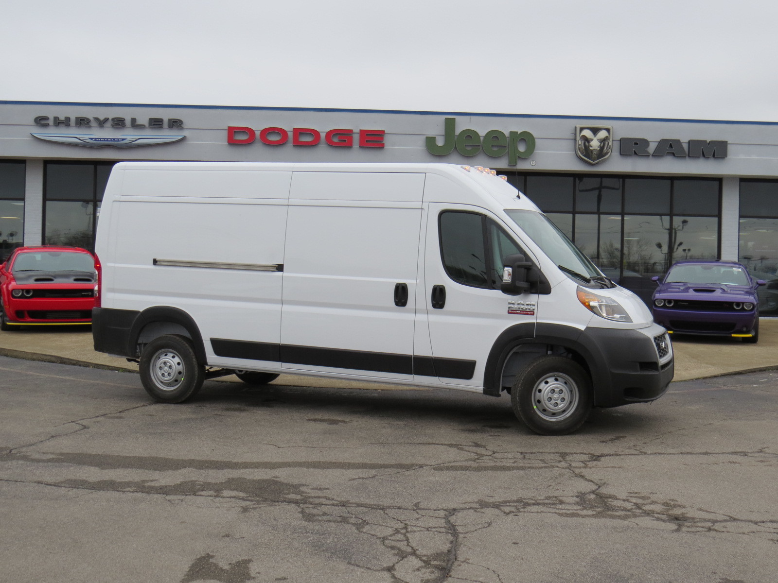 Cargo Van For Sale >> New 2019 Ram Promaster 2500 Cargo Van High Roof 159 Wb